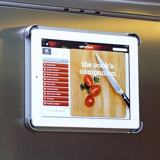 FridgePad turns your iPad into a refrigerator magnet