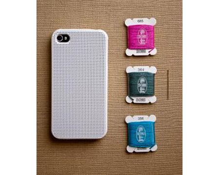 Cross Stitch case lets you design your iPhone holder