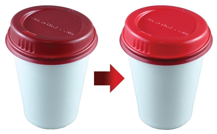 SmartLid changes color to let you know when your coffee is cool enough to drink