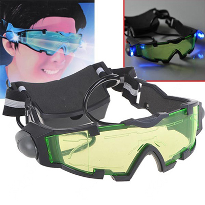 Night Vision Goggles look cool, help you see at night