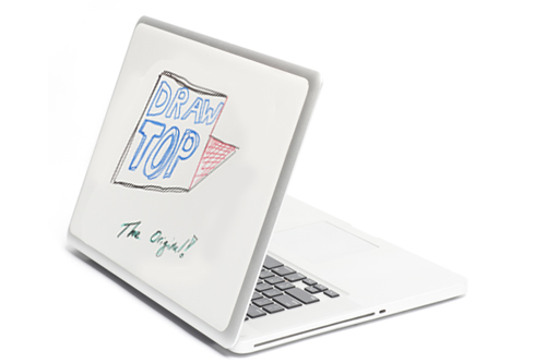 The Original DrawTop turns your laptop into a whiteboard