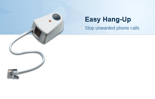 Easy Hang-Up tells off telemarketers with the push of a button