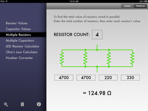Circuit Sidekick is the ultimate app for electronic DIY-er