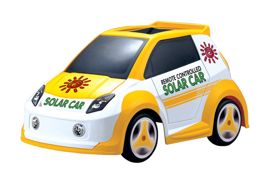 Solar Rechargeable RC Car goes green