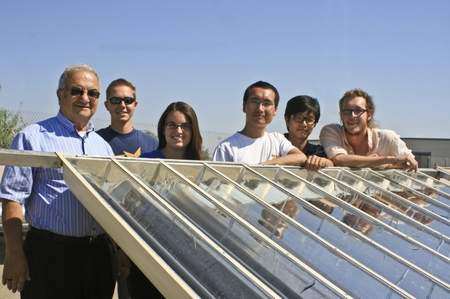 UC students create better, cheaper solar thermal system