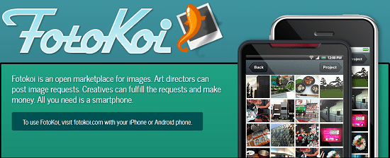 FotoKoi brings photographers and photo buyers together on their phones