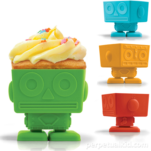 YumBots make your boring cupcakes look awesome