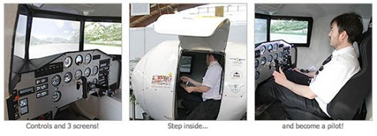 OVO-4 Home Flight Simulator is about as real as you can get, while still on the ground