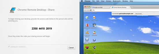 Chrome Remote Desktop Extension makes screen sharing free and easy