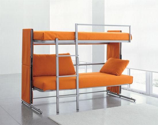 Convertible Futon Bunk Bed