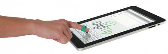 iDigitip adds a stylus to your finger