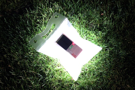 LuminAID provides cheap, solar-powered light when you need it