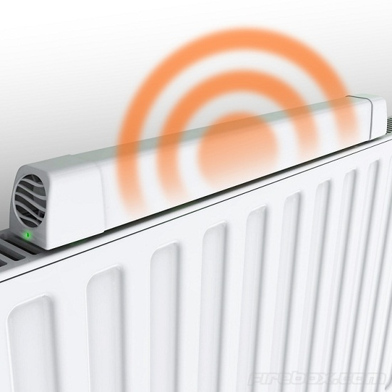 Radiator Booster circulates warm air around your room