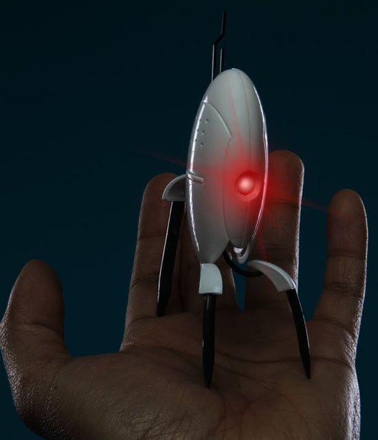 Portal Turret LED Flashlight is an adorable way to light up your night