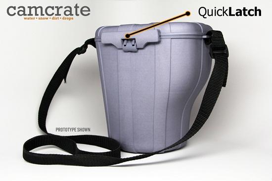 Cam Crate keeps your DSLR safe