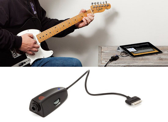 GuitarConnect Pro lets you record your guitar sessions on your iOS device