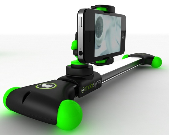 Mobislyder lets you do professional moving shots with your phone