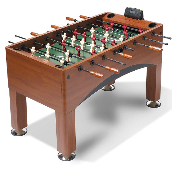 The Handicapping Foosball table lets you give your opponents an advantage