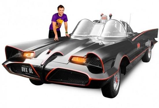 Get your own Adam West-era Batmobile