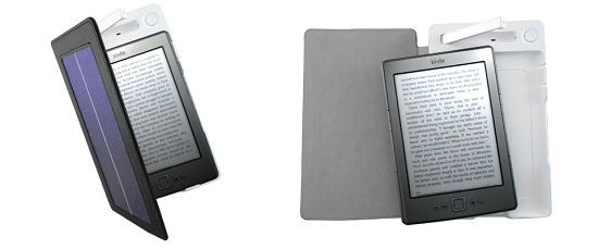 SolarKindle charges your eReader in the sun