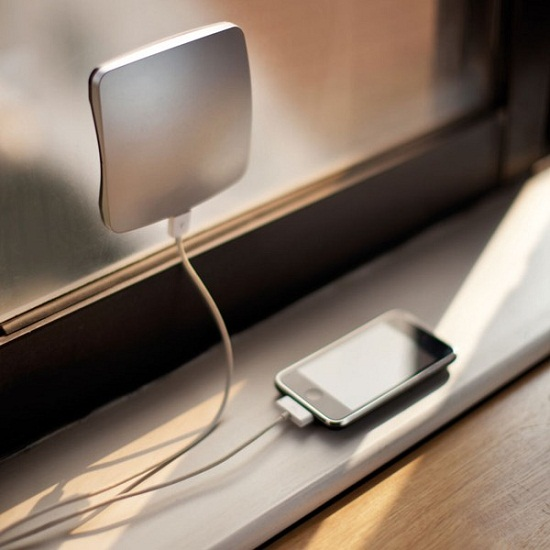 XDModo Solar Charger sticks on your window