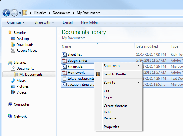Send to Kindle lets you transfer any document to your Kindle [Daily Freeware]