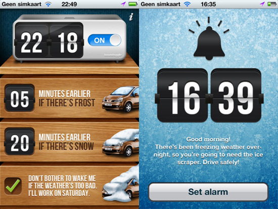 Winter Wake Up app rouses you earlier when it has snowed [Daily Freeware]