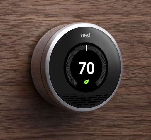 Nest thermostat learns as you use it