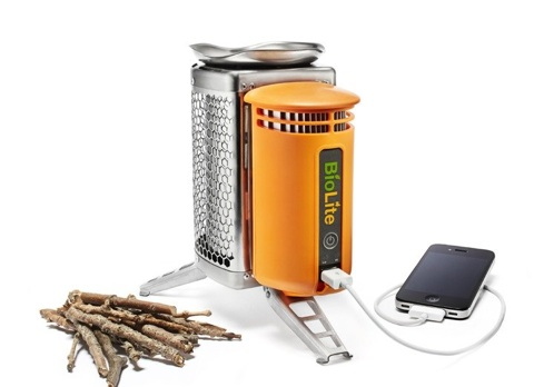 BioLite CampStove can cook with twigs and charge your gadgets