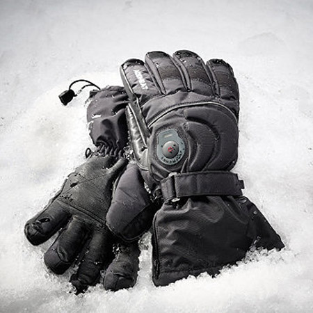 T WithZoom Ultimate Rechargeable Heated Gloves keep your hands toasty