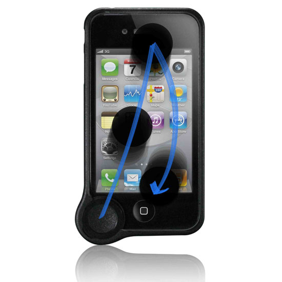 What if your case could clean your phone's screen?