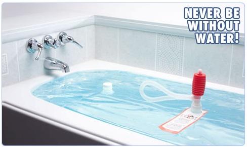 WaterBOB Emergency Drinking Water Storage