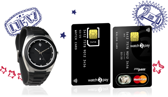 Watch2Pay uses NFC to pay for your transactions