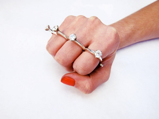 Would you wear this knuckle duster ring?