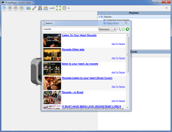 manage Watch YouTube clips without your web browser [Daily Freeware]