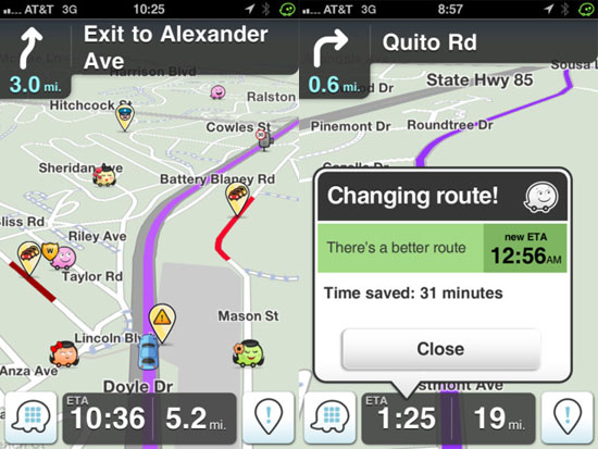 Get turn-by-turn directions and crowdsourced traffic information with Waze [Daily Freeware]