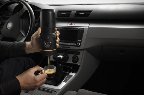 Handpresso Auto can give you fresh espresso on the road