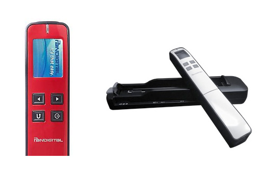 Pandigital 2-In-1 Portable Wand and Feed Scanner goes wherever you need it most