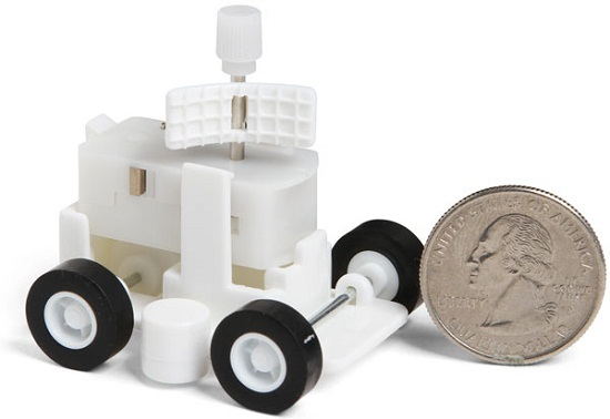 Zero Gravity Fridge Rover uses the magic of magnets