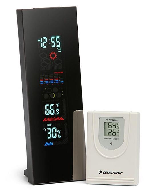 4 Color LCD Weather Station makes checking the weather more interesting