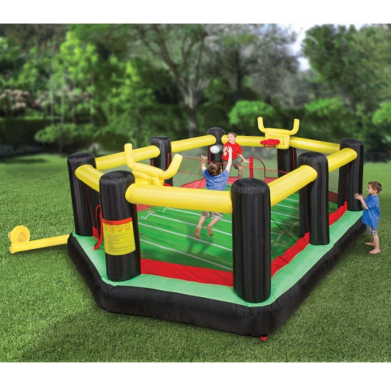Inflatable Backyard Sports Arena makes your child a sports superstar