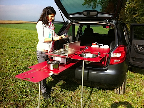 Swiss Room Box is the worlds smallest home setup for your car