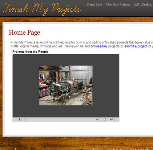 finishmyprojects small Finish My Projects is a great way to recycle your cool ideas