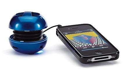 Clip Sonic Foldable Speakers go wherever you do