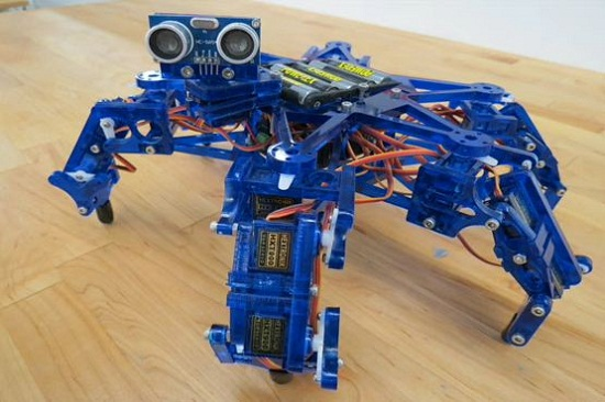 Hexy the Hexapod helps fuel your robot addiction