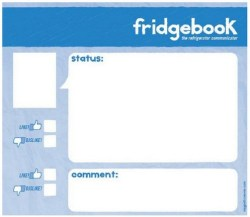 Fridgebook is a social networking communicator which won't disappoint on IPO