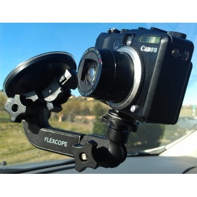 Flexcope Roadtrip Camera Mount helps you capture every moment of your travels