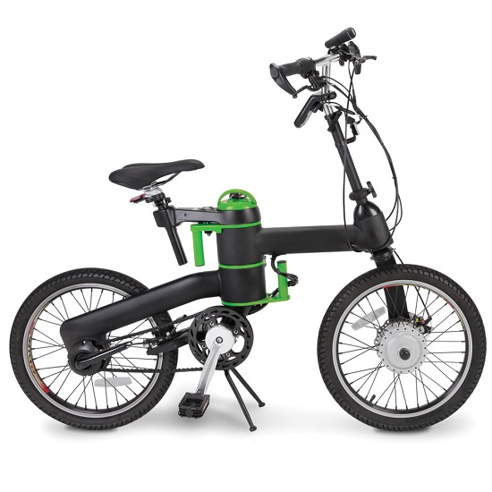 The Folding Electric Bicycle makes commuting a breeze
