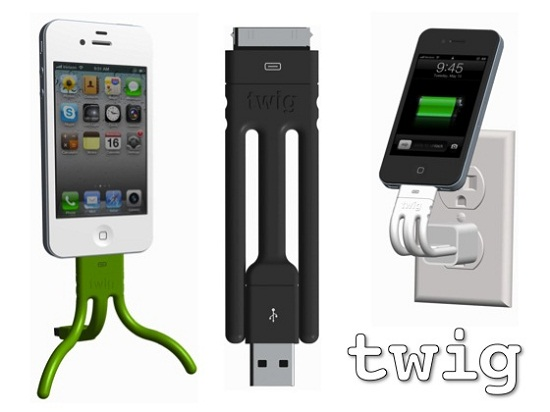The Twig is an iPhone dock with multi-tool functionality