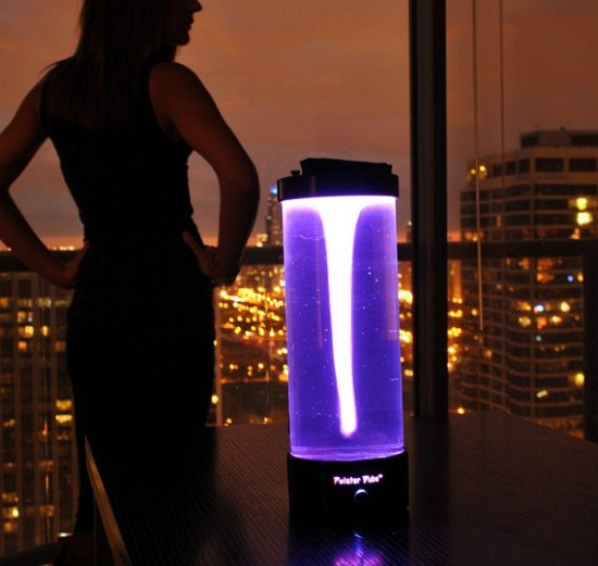Twister Tube puts a new spin on lava lamps